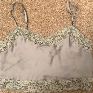 Brandy Melville Lace Crop Top